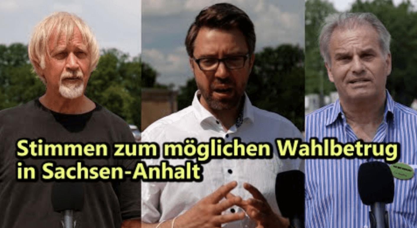 Wodarg, Fuellmich und Siber über angeblichen Wahlbetrug in Sachsen-Anhalt_
