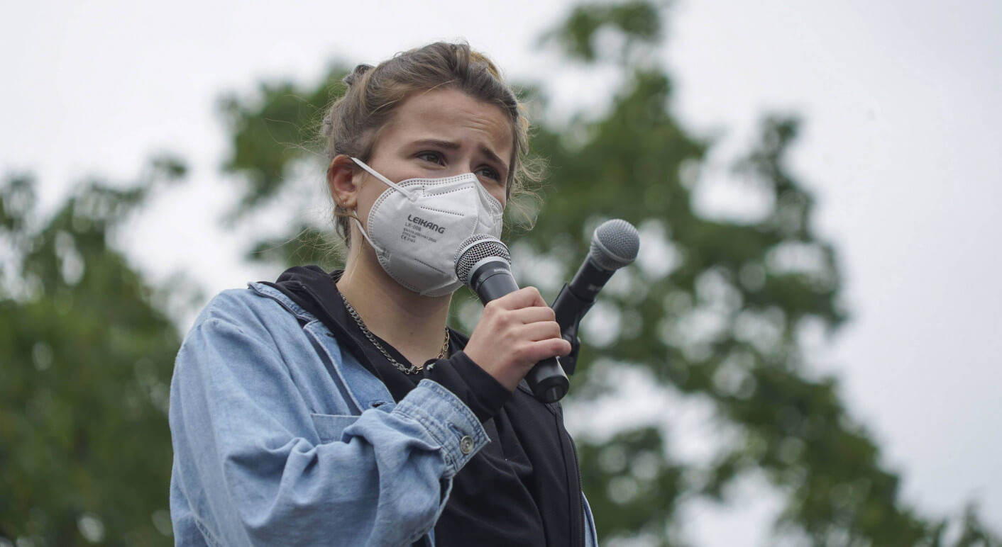 luisa neubauer klimaschutz aktivistin