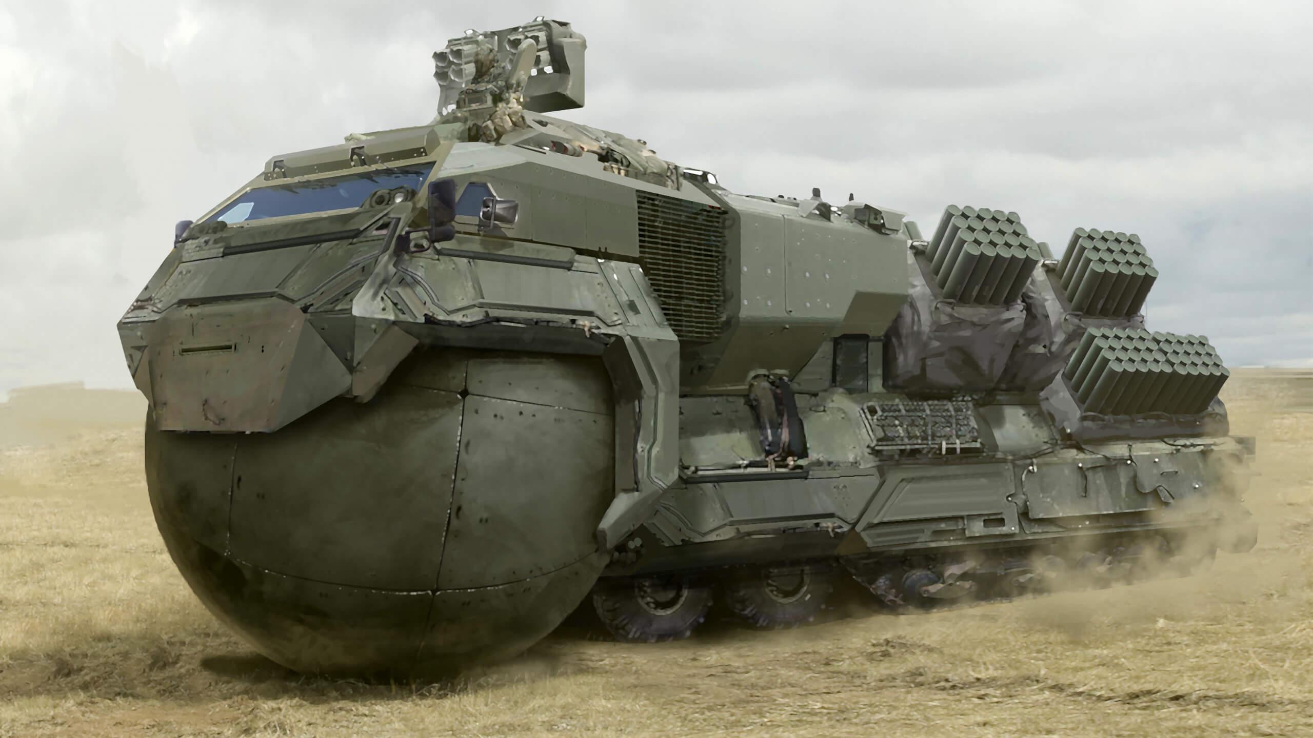 Dieses Militärfahrzeug ist nicht real