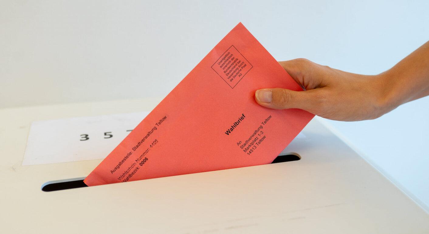 Briefwahl Einwurf