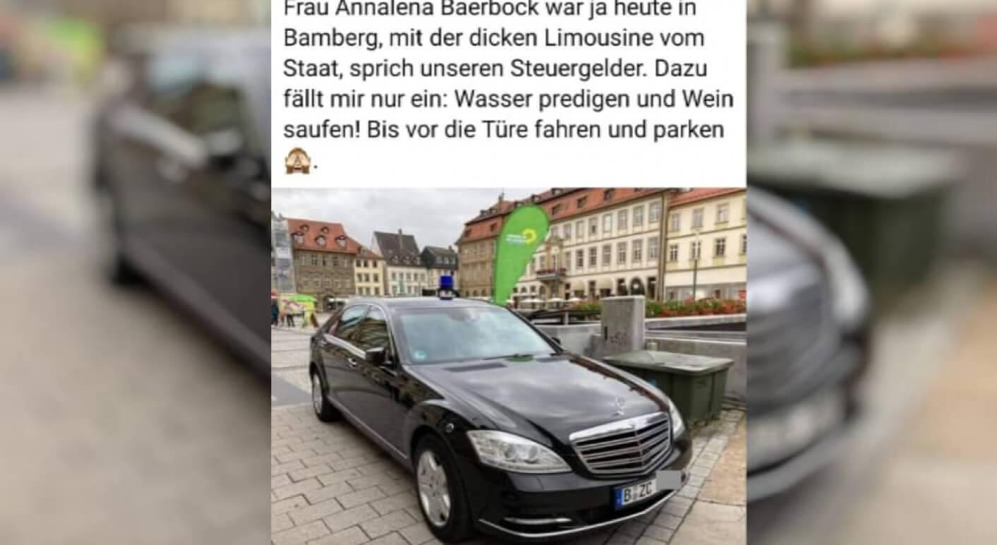 Annalena Baerbock in Bamberg