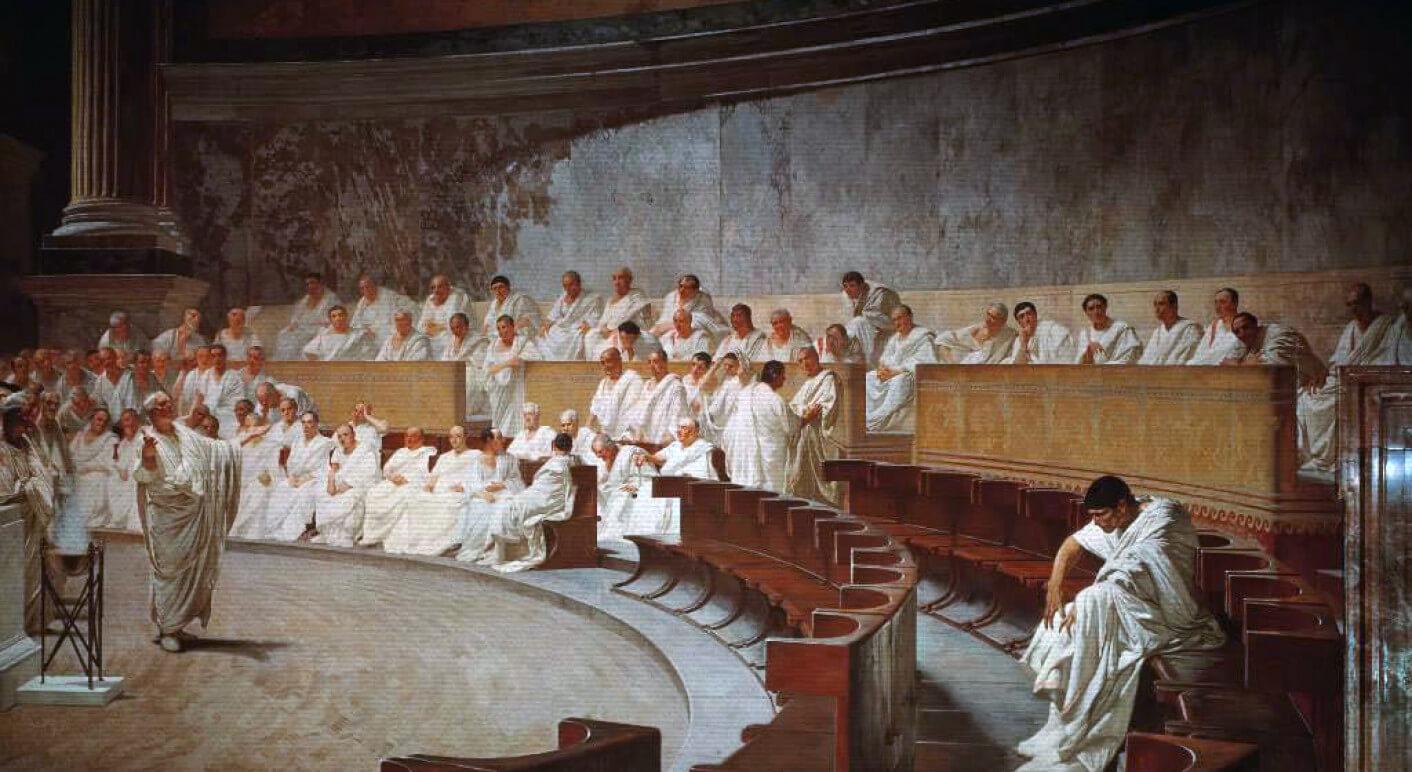 Cicerón_denuncia_a_Catilina,_por_Cesare_Maccari